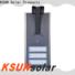 KSUNSOLAR high power solar street light factory for powered by