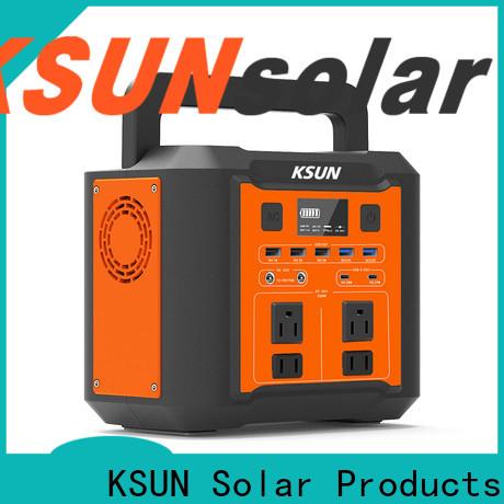 KSUNSOLAR portable power station solar power generator portable solar power system portable solar power generator portable solar power bank for Power generation