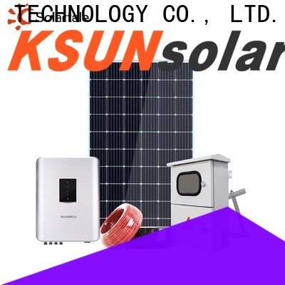 KSUNSOLAR New hybrid solar power system for business for powered by