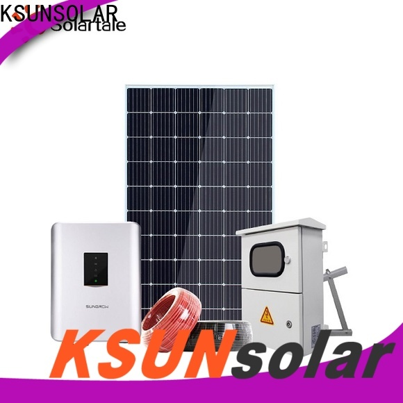 KSUNSOLAR Top off grid solar panels Supply for powered by