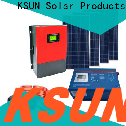 KSUNSOLAR High-quality off grid solar panels Supply for powered by