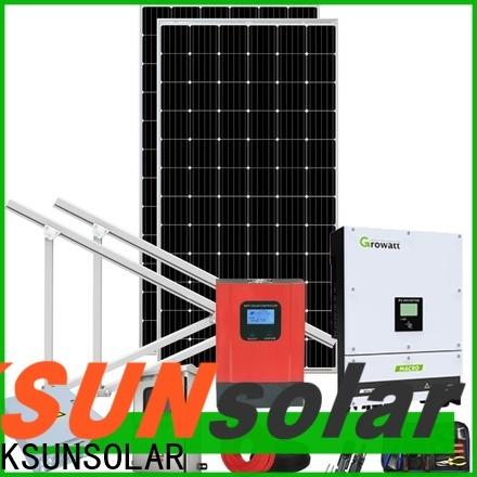 KSUNSOLAR Best solar power systems for sale company for Energy saving