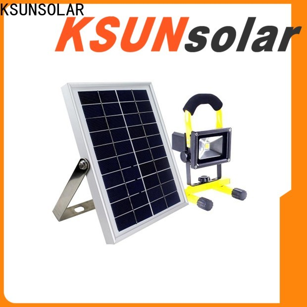 KSUNSOLAR High-quality solar powered led lights outdoor Supply for powered by