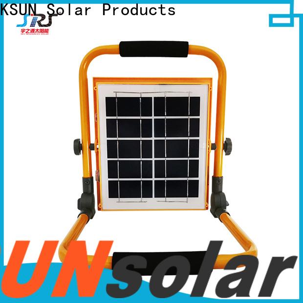 KSUNSOLAR solar flood lights for sale Supply for Energy saving