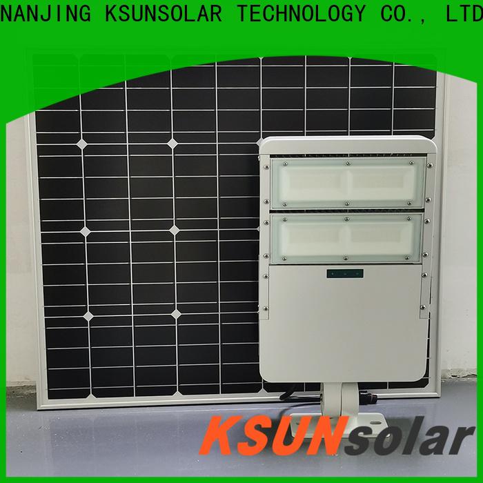 KSUNSOLAR Best solar panel led flood light Supply for powered by