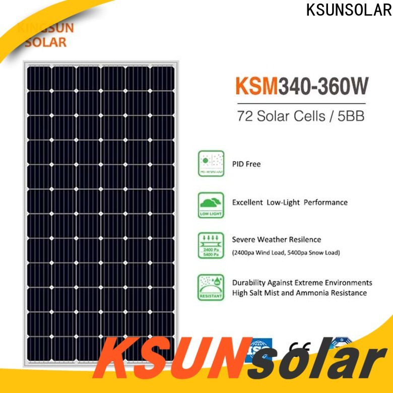 Latest best monocrystalline solar panel brands manufacturers For photovoltaic power generation