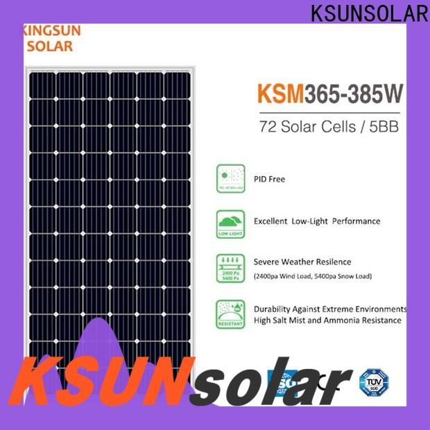 KSUNSOLAR New monocrystalline solar panel price company for Environmental protection