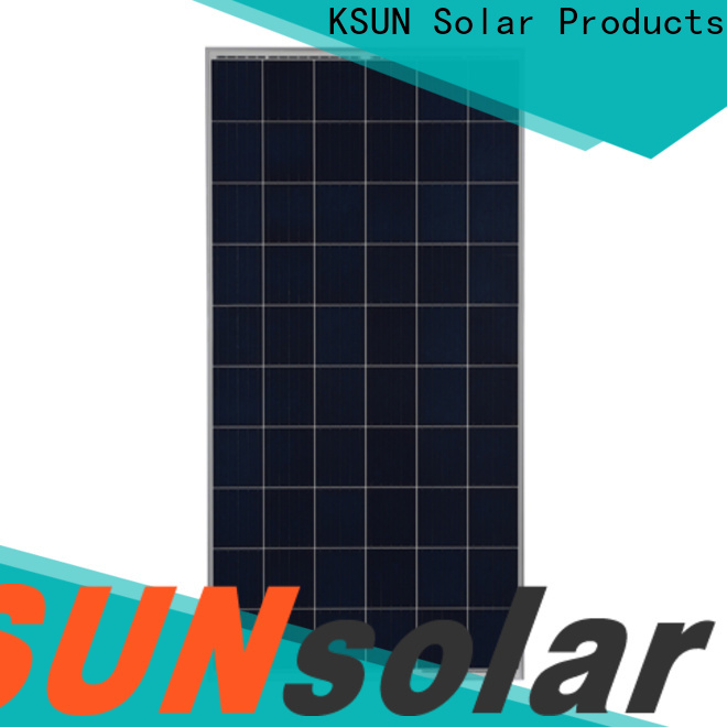 KSUNSOLAR poly panels for Power generation