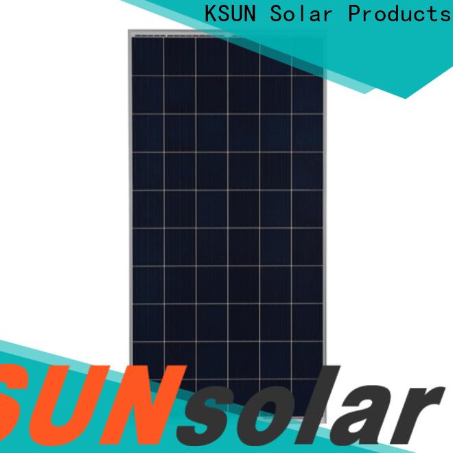 KSUNSOLAR poly panels for Power generation