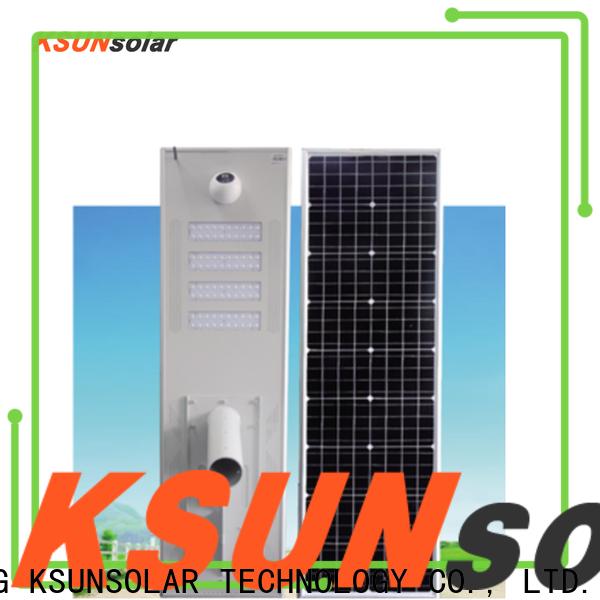 Best solar powered led street lights for Power generation
