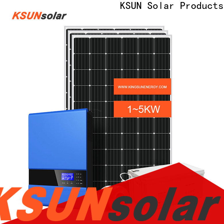 Custom off grid solar energy systems Supply For photovoltaic power generation