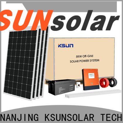 Latest grid tied solar kit for business for Energy saving