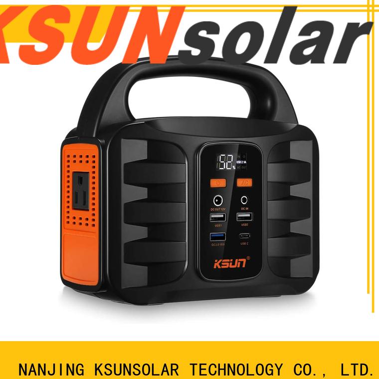 KSUNSOLAR portable power stations company for Energy saving