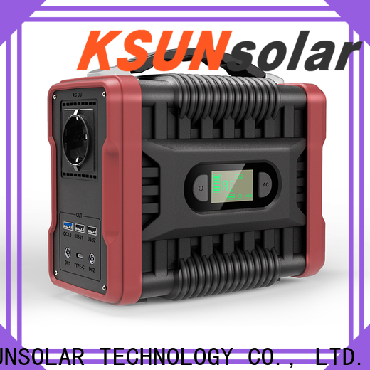 KSUNSOLAR High-quality portable power supply unit Suppliers For photovoltaic power generation