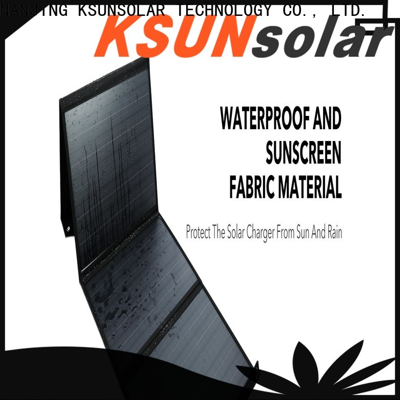 KSUNSOLAR folding solar panel Suppliers For photovoltaic power generation