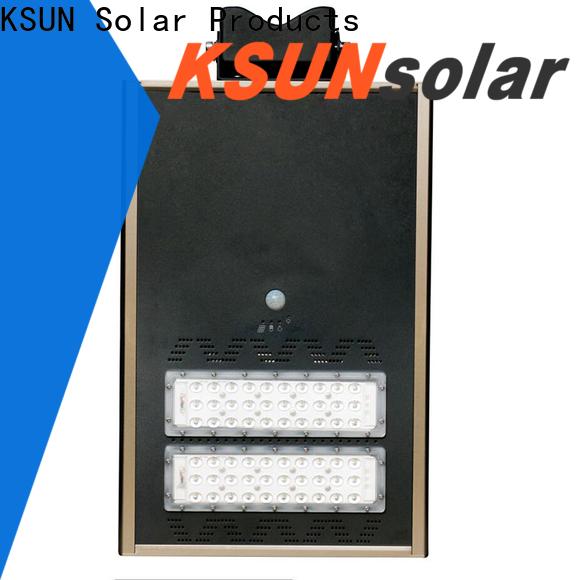 KSUNSOLAR solar powered street lights manufacturers Supply for Energy saving