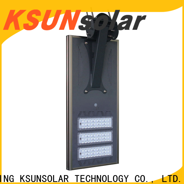 New solar street lights manufacturers for Energy saving