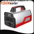 KSUNSOLAR portable rechargeable power supply Suppliers for Environmental protection