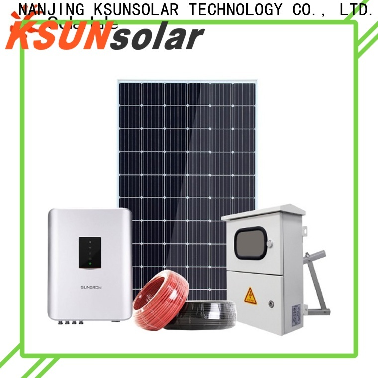 New residential solar systems factory for Environmental protection