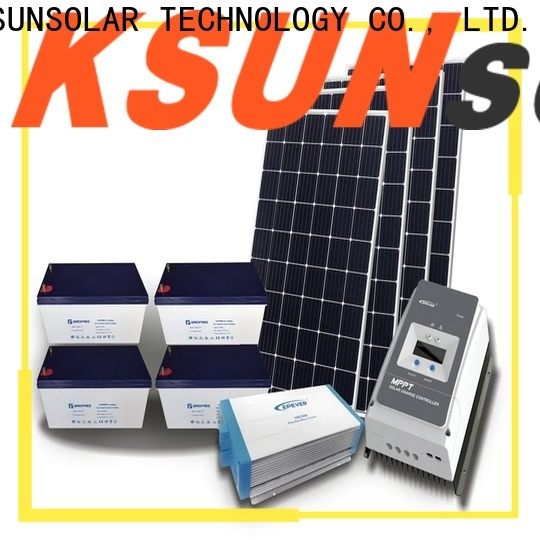 KSUNSOLAR Best best off grid power systems for business for Environmental protection