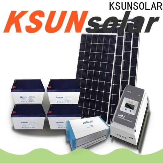 KSUNSOLAR Custom solar power energy system factory for Environmental protection