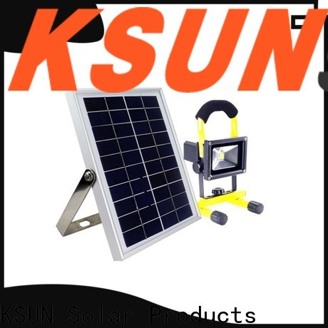 KSUNSOLAR High-quality solar powered flood lights LED solar power light factory for Environmental protection