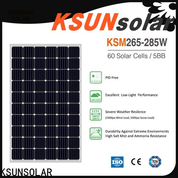 Best mono silicon solar panels factory for Environmental protection