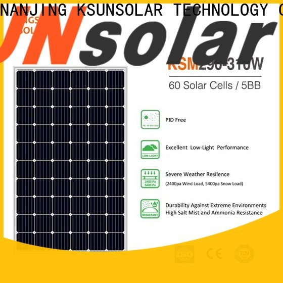 KSUNSOLAR photovoltaic module company for Power generation