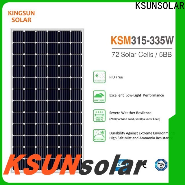 KSUNSOLAR mono panel for powered by