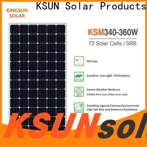 New monocrystalline silicon solar panels price for Environmental protection