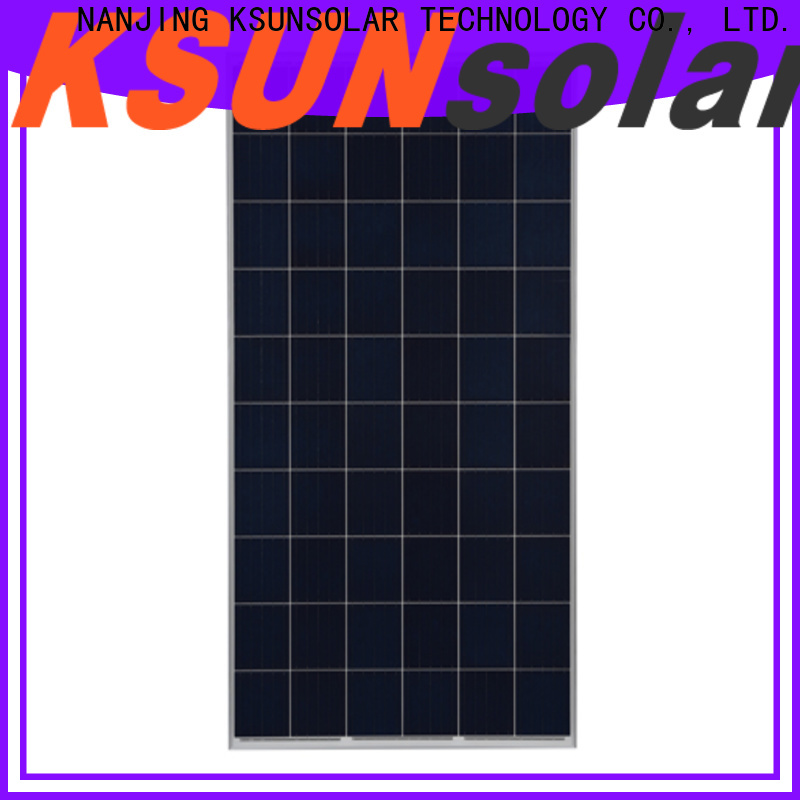 KSUNSOLAR Wholesale photovoltaic cell polycrystalline solar panel for business For photovoltaic power generation