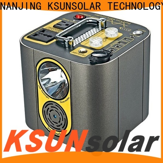 KSUNSOLAR Wholesale portable power unit Supply for Environmental protection