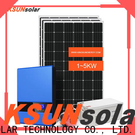 KSUNSOLAR best off grid solar panels company for powered by