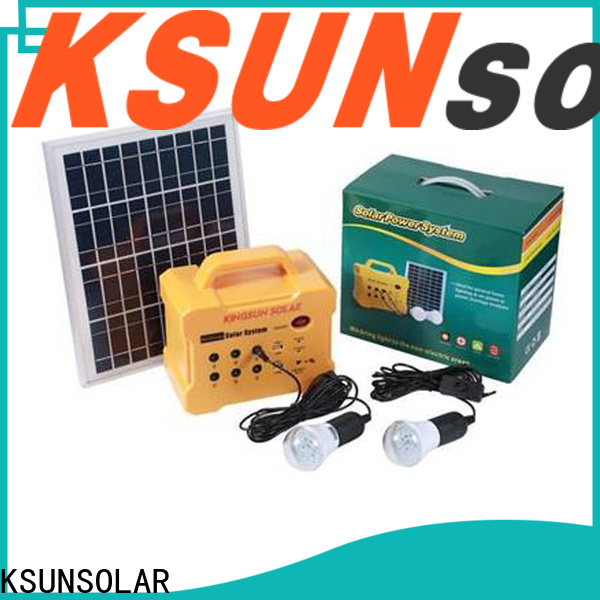 KSUNSOLAR Latest portable power station price factory For photovoltaic power generation