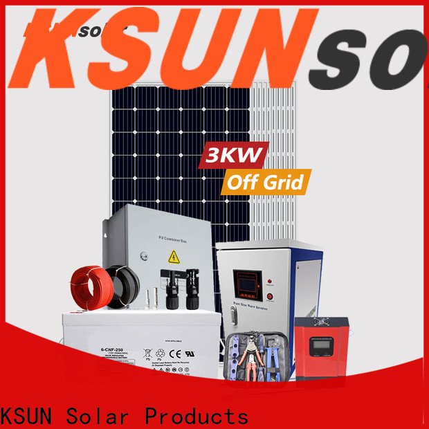 Wholesale off grid solar system price factory for Power generation