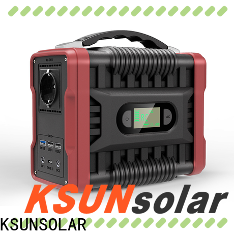KSUNSOLAR portable power source Supply for Power generation