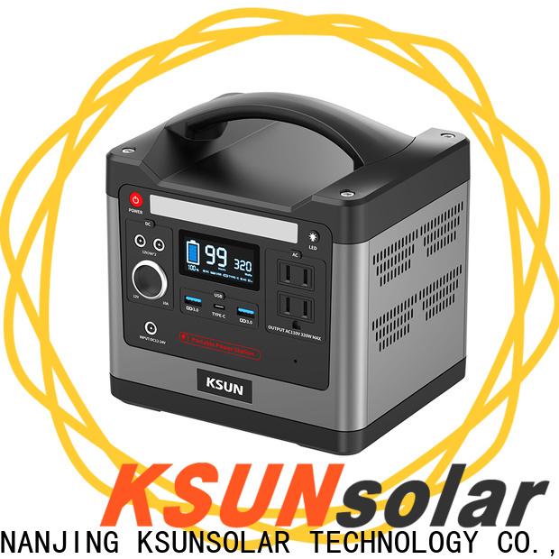KSUNSOLAR Best portable power stations Supply for Energy saving