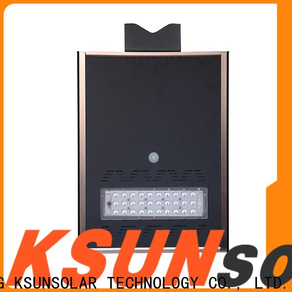 KSUNSOLAR solar powered street lights manufacturers for Power generation