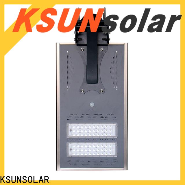 KSUNSOLAR solar street light price for Energy saving
