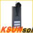 KSUNSOLAR High-quality solar powered street lights factory For photovoltaic power generation