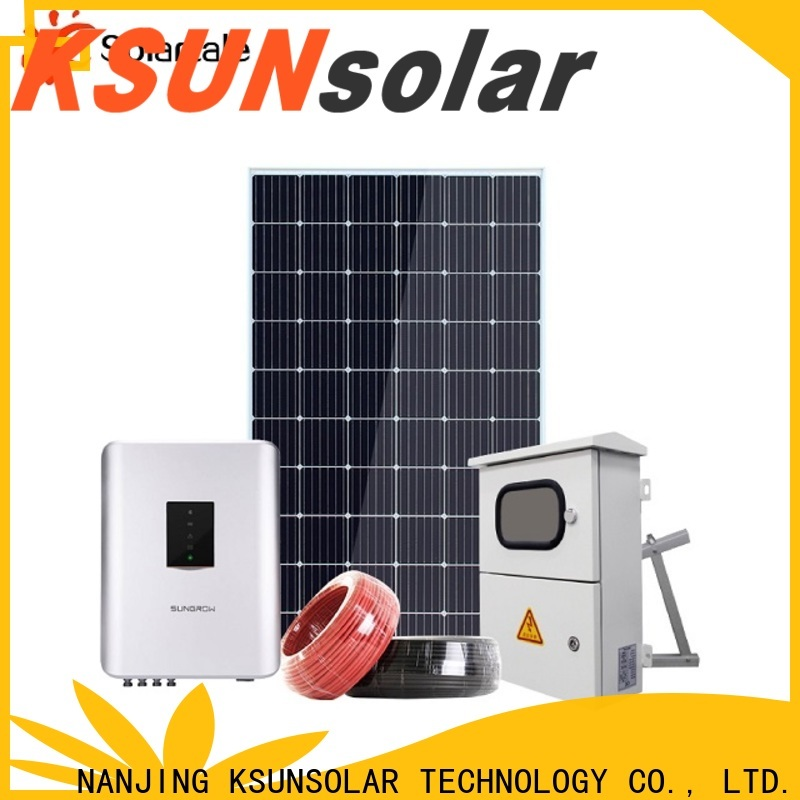 Wholesale off grid solar systems kits Suppliers for Environmental protection