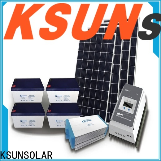 KSUNSOLAR solar panels for off grid home Suppliers for Power generation