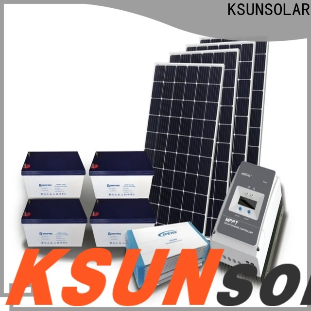 KSUNSOLAR solar power system companies for business For photovoltaic power generation
