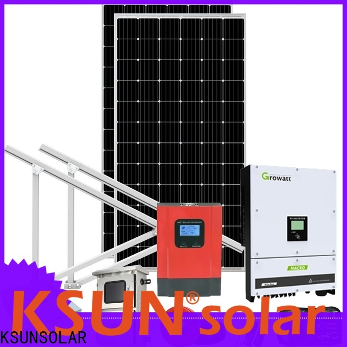 KSUNSOLAR solar power systems prices company for Energy saving