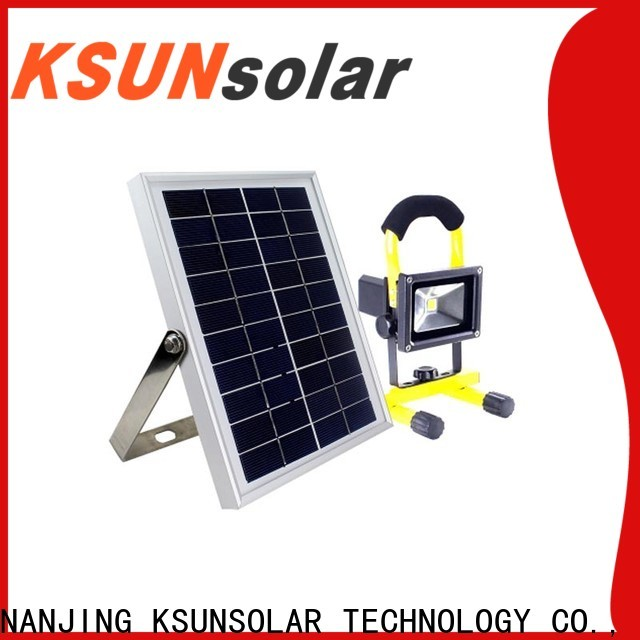 KSUNSOLAR solar powered led flood lights manufacturers for Environmental protection