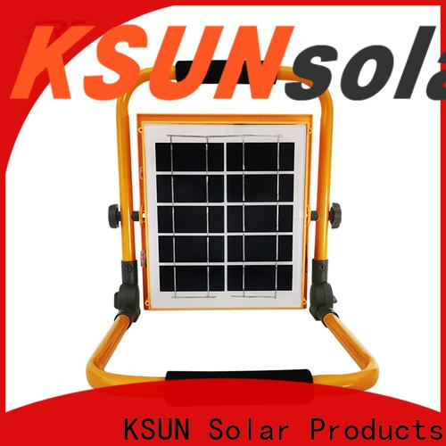 KSUNSOLAR Wholesale solar powered led flood lights Suppliers For photovoltaic power generation