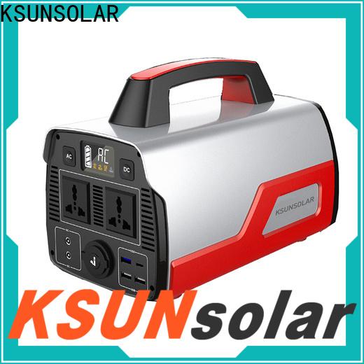 KSUNSOLAR Top portable power station generator factory for Environmental protection