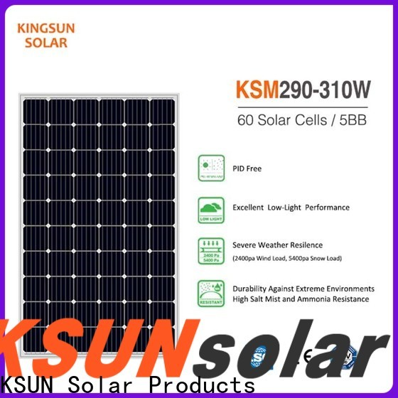 KSUNSOLAR commercial solar panels Suppliers for Power generation