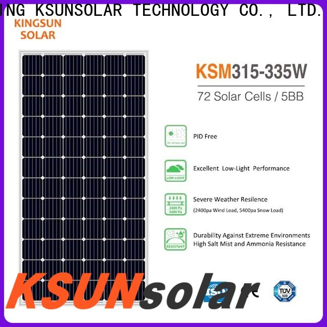 KSUNSOLAR solar panel suppliers for Power generation