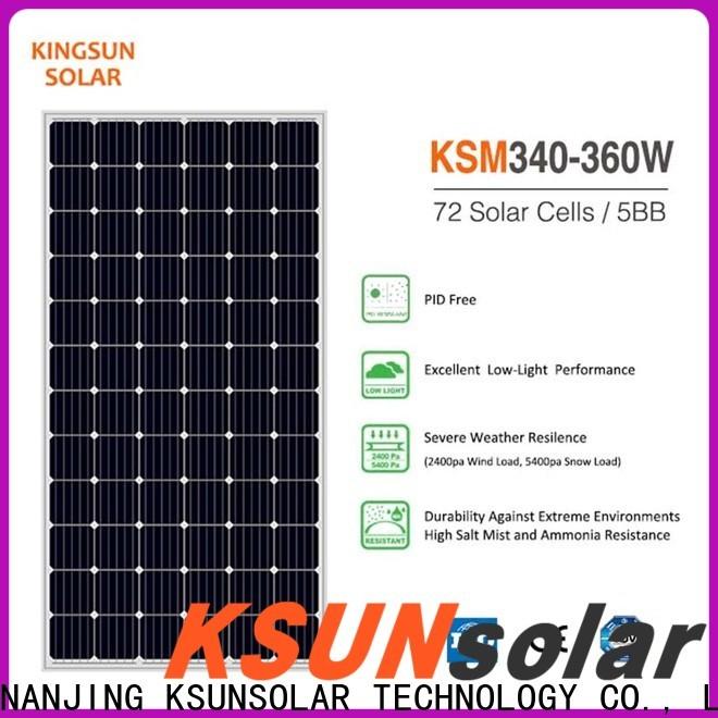 KSUNSOLAR Wholesale monocrystalline solar panel for Environmental protection